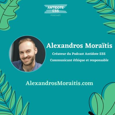 Conclusion de la Saison 1 du Podcast Antidote ESS par Alexandros Moraïtis cover