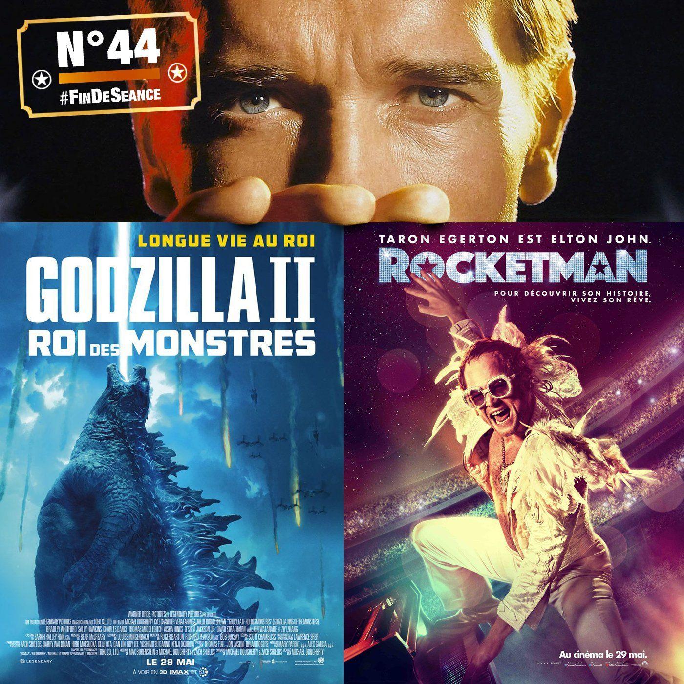 #44 GODZILLA 2 & ROCKETMAN : Notorious B.I.G !