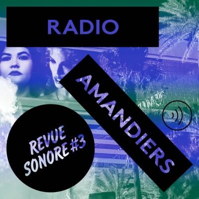 RADIO AMANDIERS #3 - MARLÈNE SALDANA / JONATHAN DRILLET cover