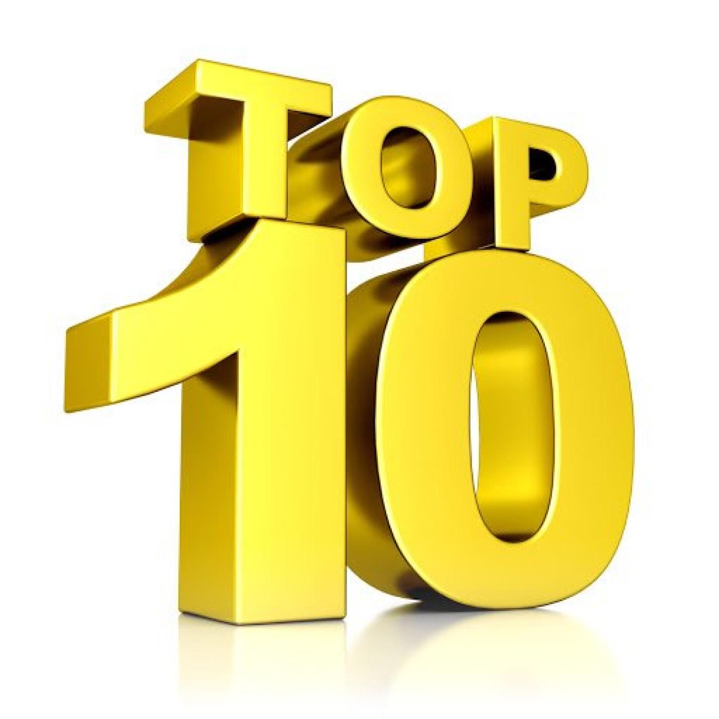 TOP 10 : Les sons les plus écoutés pour le nouvel an