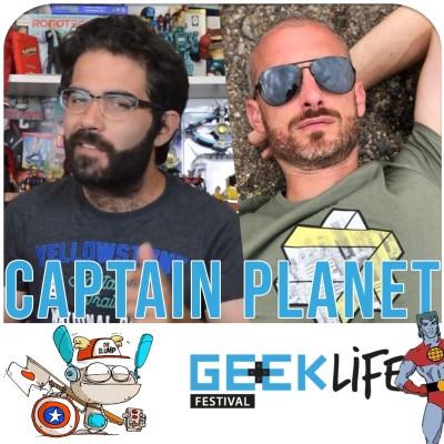 Captain Planet, le super-héros écolo (Geek Life Festival) cover