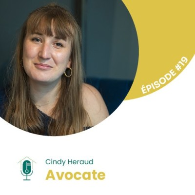 #19 - Interview d'Experte avec Cindy Heraud : Avocate en droit des affaires cover