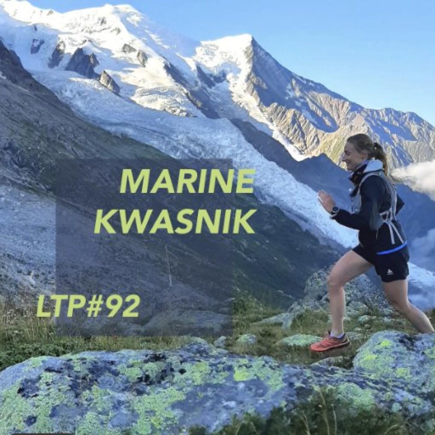 "LTP#92 MARINE KWASNIK ""TRAIL EN TERRES D'OC"""