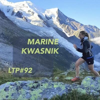 "LTP#92 MARINE KWASNIK ""TRAIL EN TERRES D'OC"" cover"