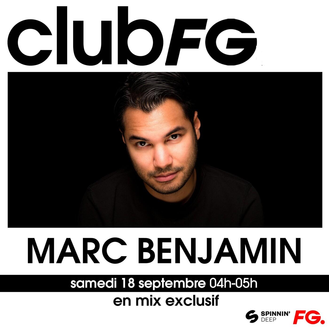 CLUB FG : MARC BENJAMIN
