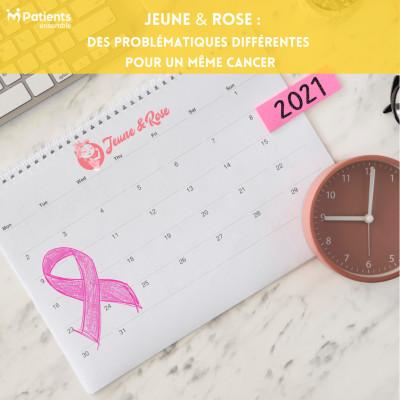 Podcast 129 - Jeune & Rose : des problématiques différentes pour un même cancer cover