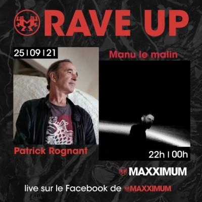 RAVE UP : MANU LE MALIN cover