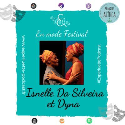 "image ""En mode Festival"" - Isnelle Da Silveira et Dyna - NinaLisa"