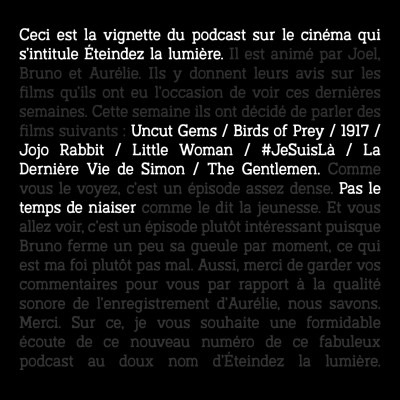 Episode n°73: Pas le temps de niaiser cover