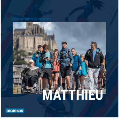 """# 4 Hors Série - Matthieu - """"1000 km à pied sur le GR34, repousser mes nouvelles limites"""" cover"""