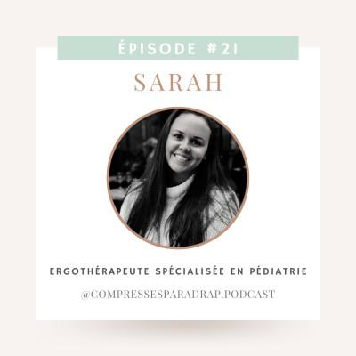 #21 : Sarah, ergothérapeute spécialisée en pédiatrie cover