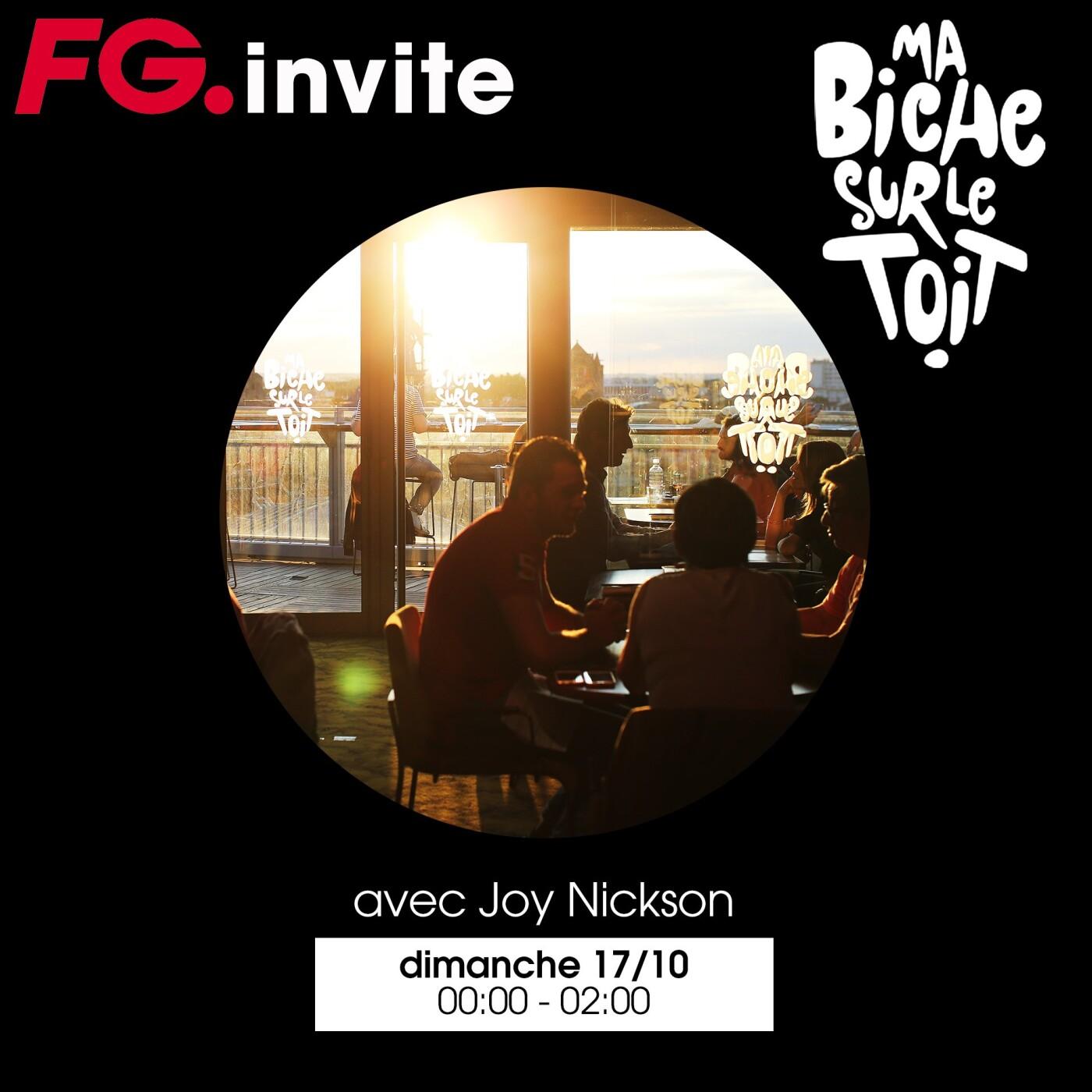 FG INVITE : MA BICHE SUR LE TOIT