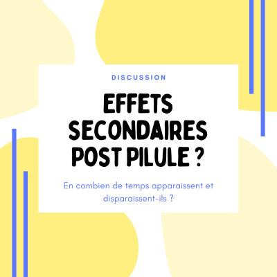 Effets secondaires post Pilule : en combien de temps disparaissent-ils ? cover