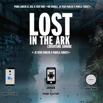 Introduction au Jeu Lost in the ark de Pamela Target cover