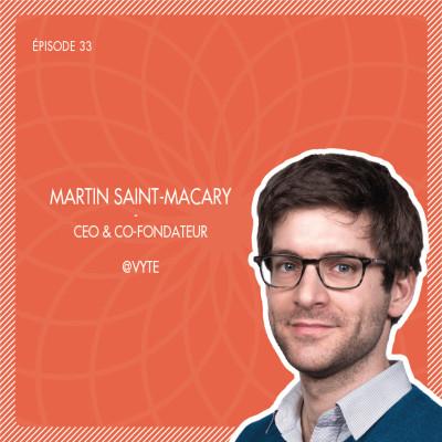 #33 Vyte : La solution de prise de rendez-vous qui facilite votre prospection commerciale avec Martin Saint-Macary cover