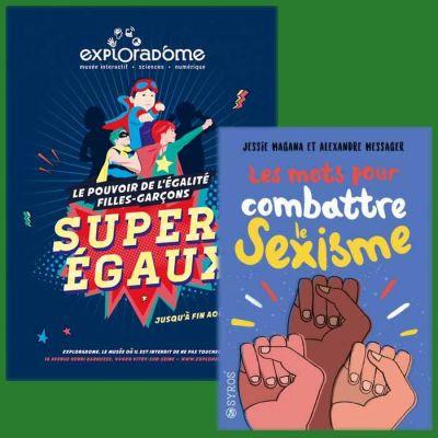 image 17 juillet :L'expo Super égaux - Jessie Magana : combatre le sexisme-rediffusion