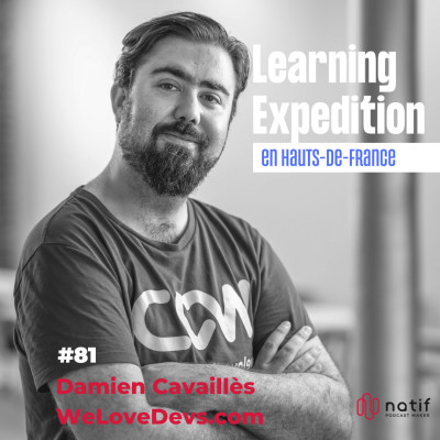 #81 - Damien Cavaillès /// L'humilité t'aide à devenir un bon dirigeant - WeLoveDevs.com cover