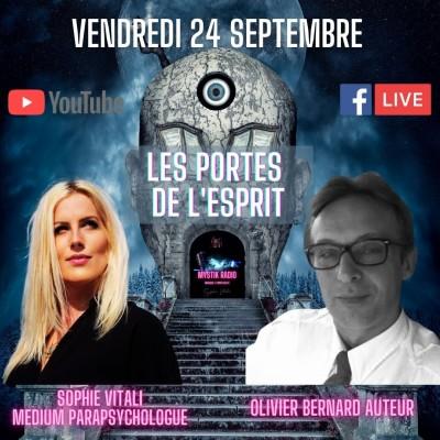 """Image of the show Sophie Vitali reçoit Olivier Bernard auteur de l'ouvrage """"Les portes de l'esprit"""""""