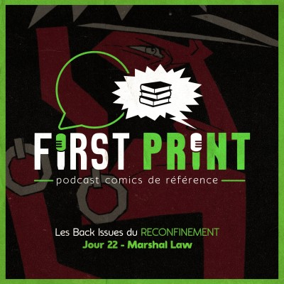 Les Back Issues du Reconfinement - Jour 22 : Marshal Law cover