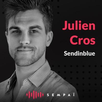 Sendinblue avec Julien Cros cover