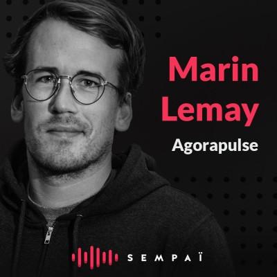 Agorapulse avec Marin Lemay cover