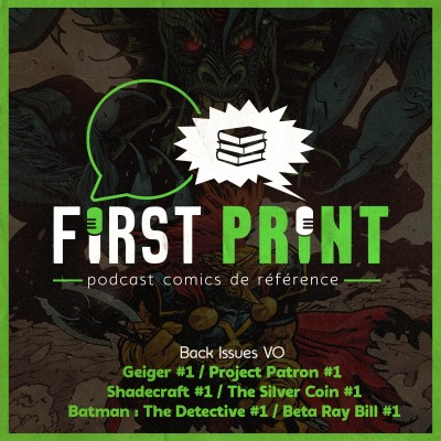 Beta Ray Bill #1, Shadecraft #1, Geiger #1 : et si on causait comics VO ? [Back Issues] cover