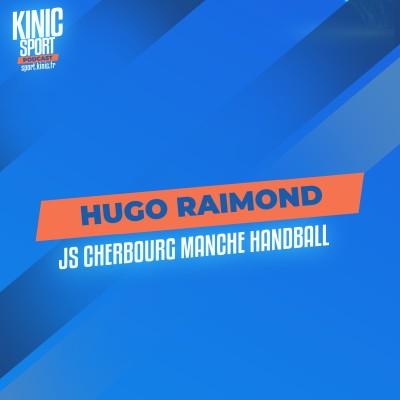 #3 - Hugo Raimond : JS Cherbourg Manche Handball cover