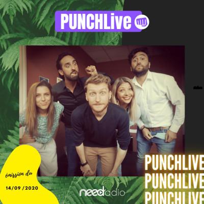 Punch Live (avec Quentin & son équipe) (14/09/20) cover