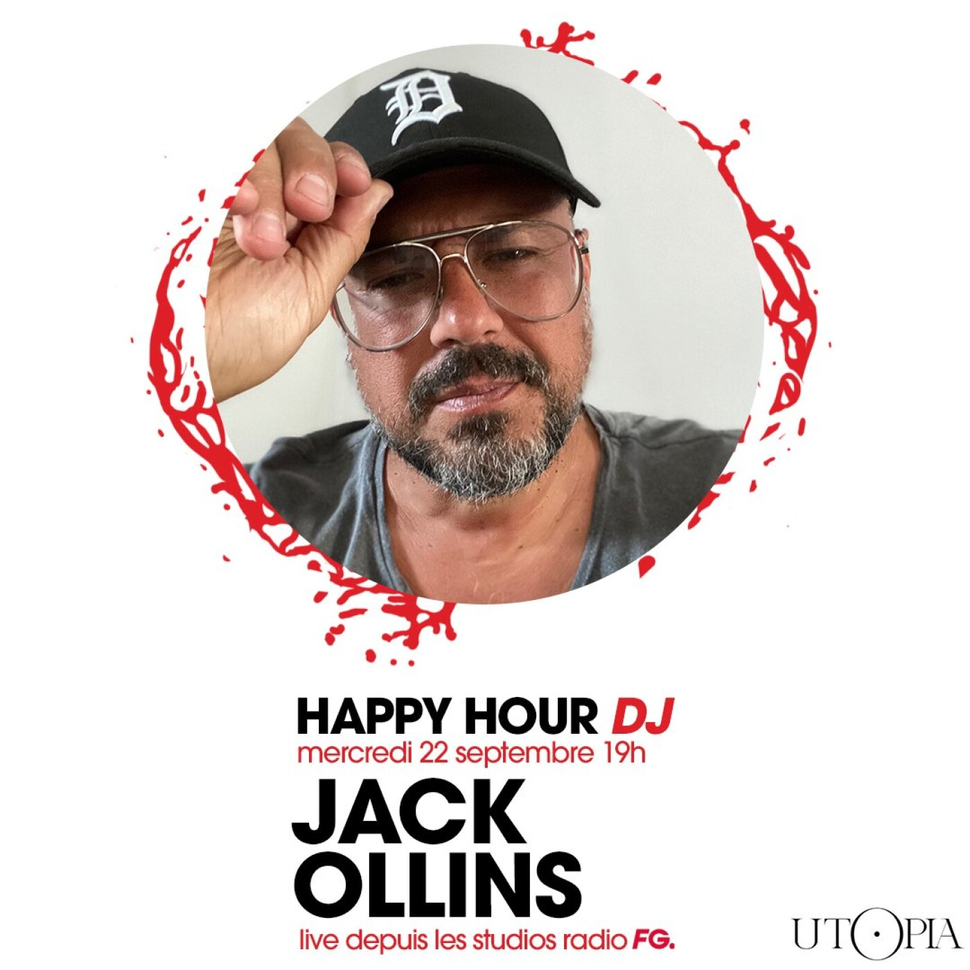 HAPPY HOUR DJ : JACK OLLINS
