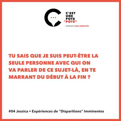 "#04 Jessica • Expériences de ""Disparitions"" Imminentes cover"