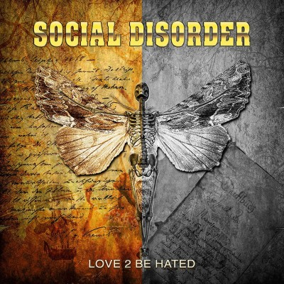"""Podcast - Interview Anders """"LA"""" Rönnblom - Social Disorder - 19 06 2021. cover"""