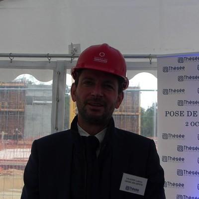 Ludovic Valadier (Banque des Territoires), pose de la première pierre de Thésée Datacenter cover