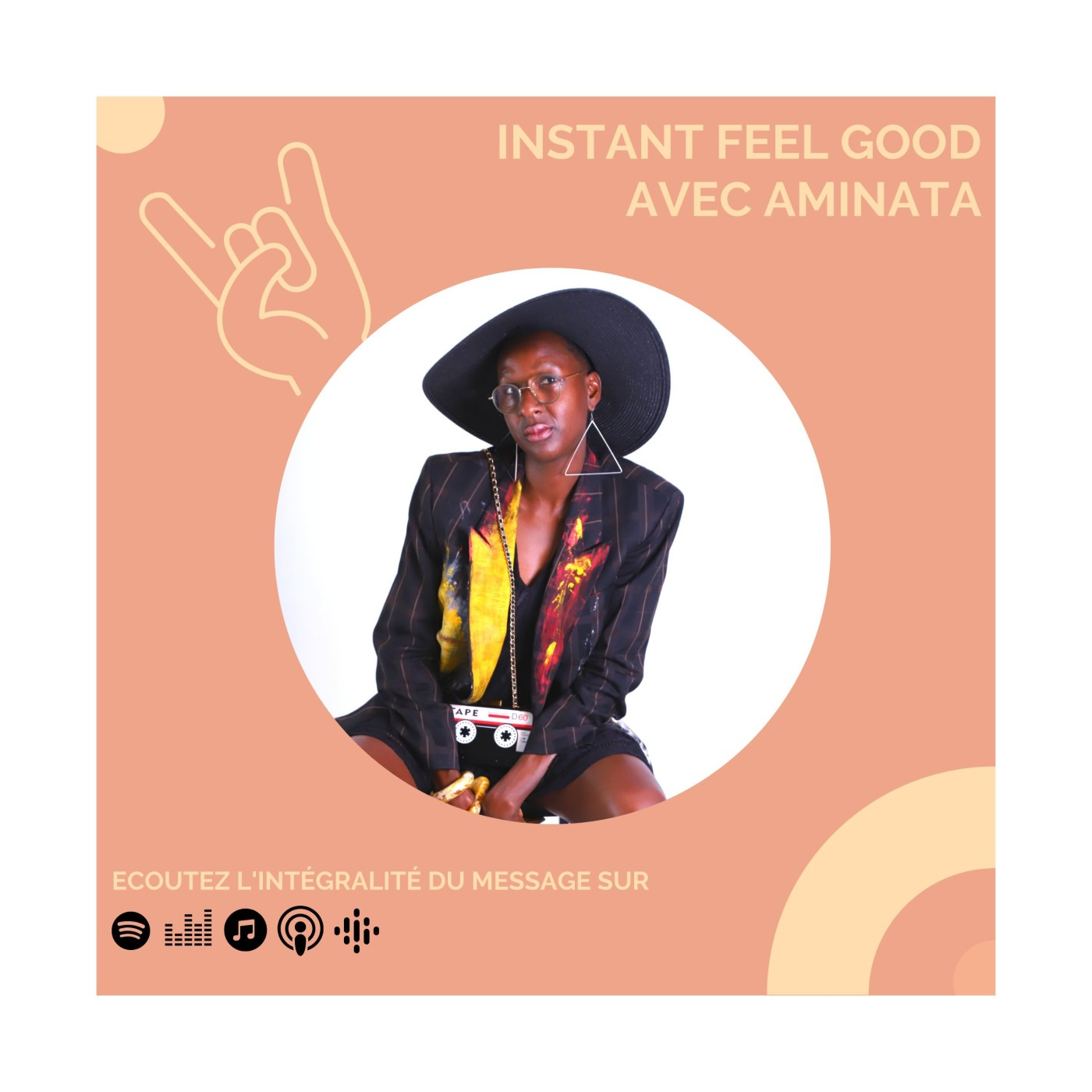 Instant Feel Good avec Aminata