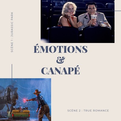 Emotions & Canapé : Jurassic Park et True Romance cover
