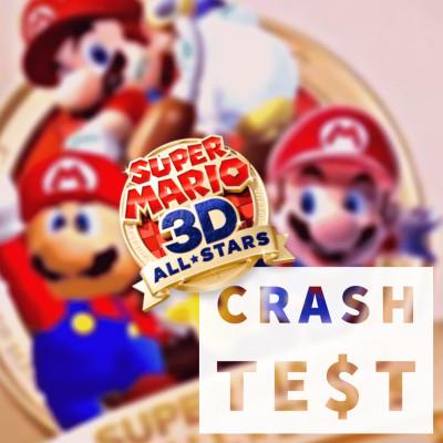 #CrashTest - Super Mario 3D All Stars - De la nostalgie low cost vendue à prix d'or cover