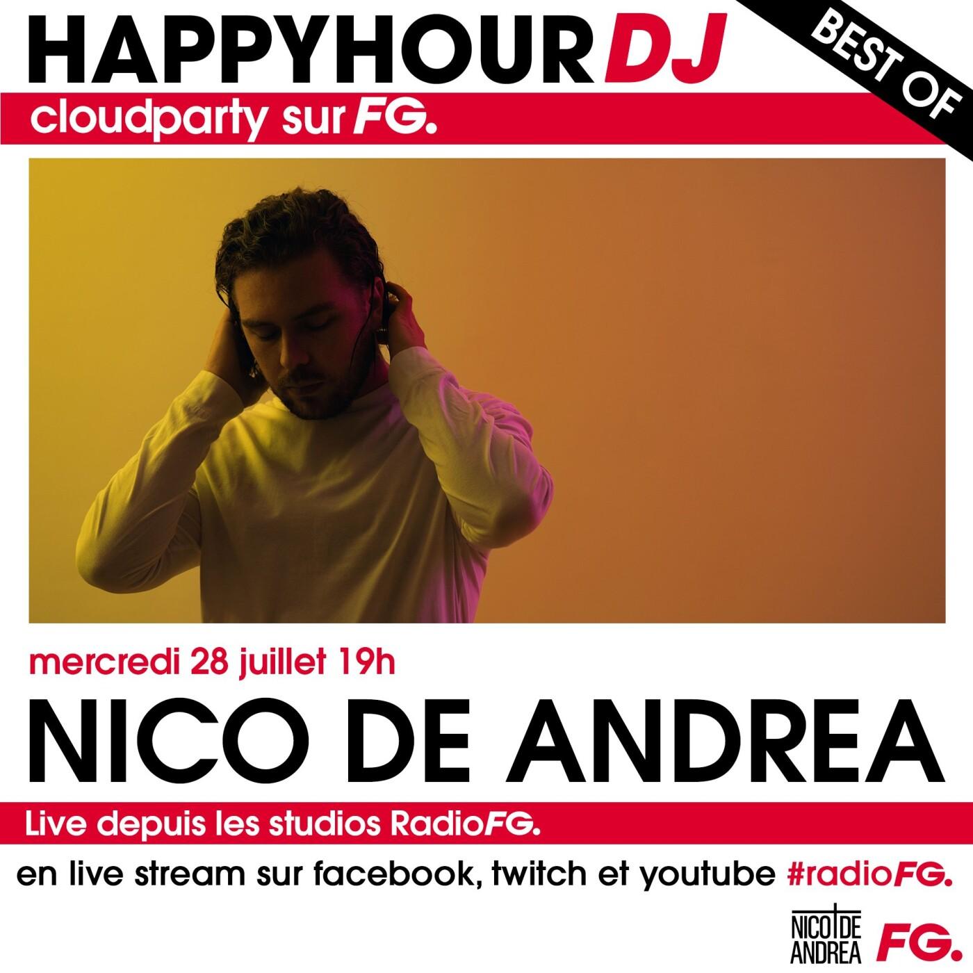 HAPPY HOUR DJ BEST OF : NICO DE ANDREA