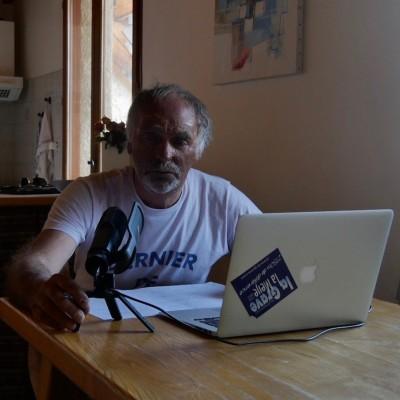 Les podcasts de Paulo Grobel, intro cover