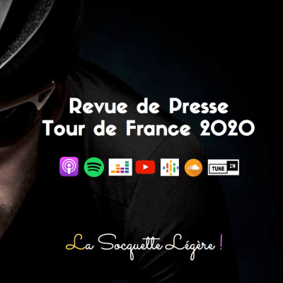Revue de Presse - Report officiel du Tour de France 2020 (16 Avril 2020) cover