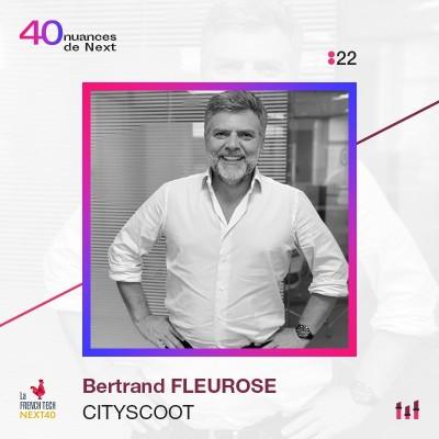 :22 Part 1 - Bertrand Fleurose - Cityscoot : la résilience faite Homme. cover