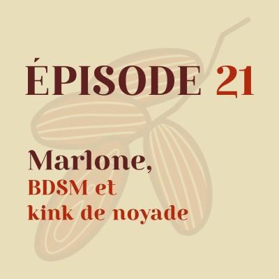 Marlone, BDSM et kink de noyade cover