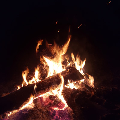 Balade Nocturne #2 - Au coin du feu cover