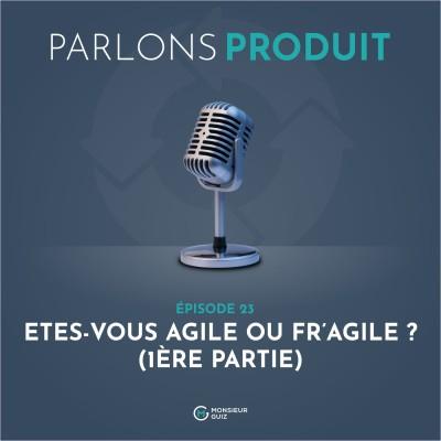 Episode 23 - Votre équipe, Agile ou Fr'agile ? (1ère partie) cover