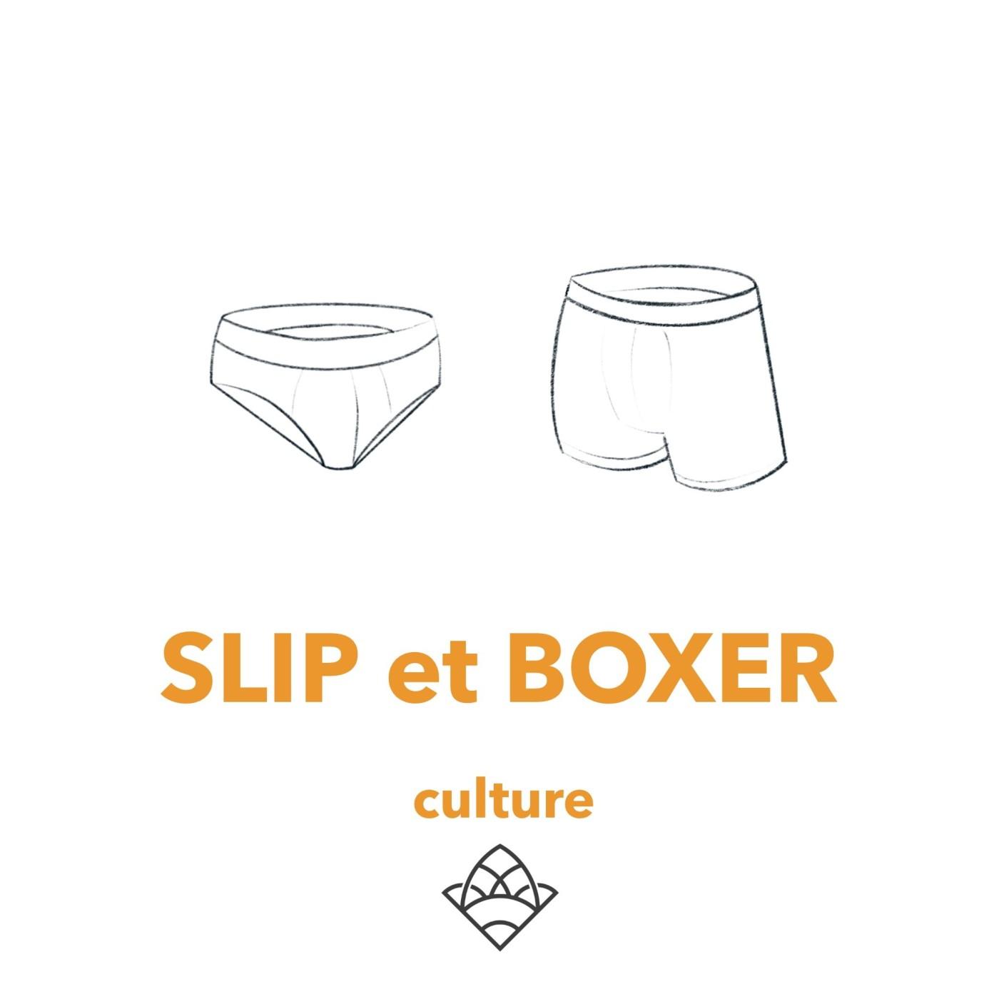 (culture 23) Le slip et le boxer