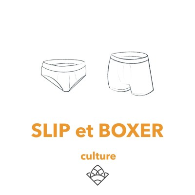 (culture 23) Le slip et le boxer cover