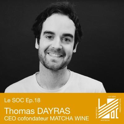 #18 -Thomas DAYRAS- L'intelligence artificielle au service de la distribution des vins, bières et spiritueux cover