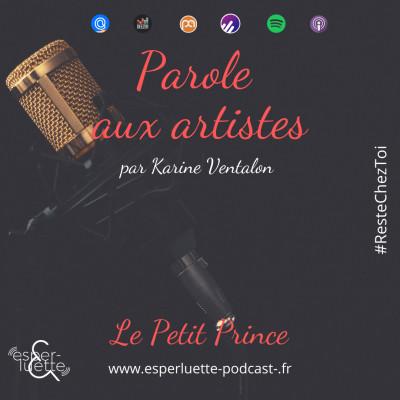 Le Petit Prince par Karine Ventalon - Parole aux artistes #ResteChezToi cover