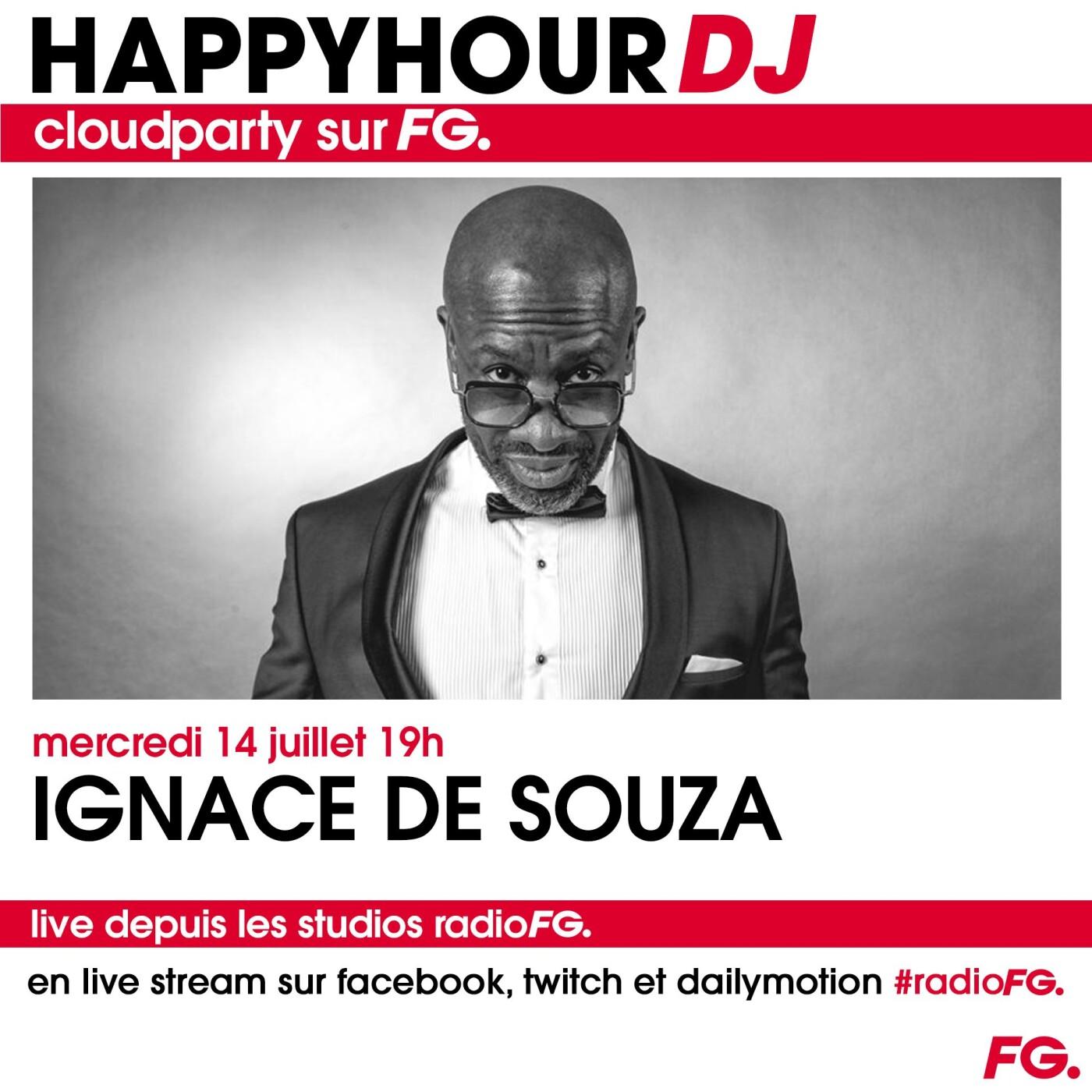 HAPPY HOUR DJ : IGNACE DE SOUZA