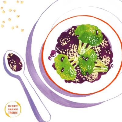 Salade de brocolis et quinoa cover