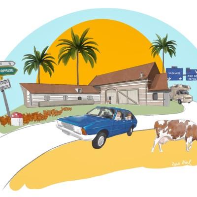 La route des vacances (1/3) : insomnie et jeu de tétris cover