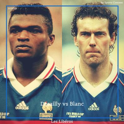 Marcel Desailly vs Laurent Blanc : duel de défenseurs français de légende ! cover